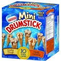 Mini drumstick pack shot - cookie dough and vanilla caramel