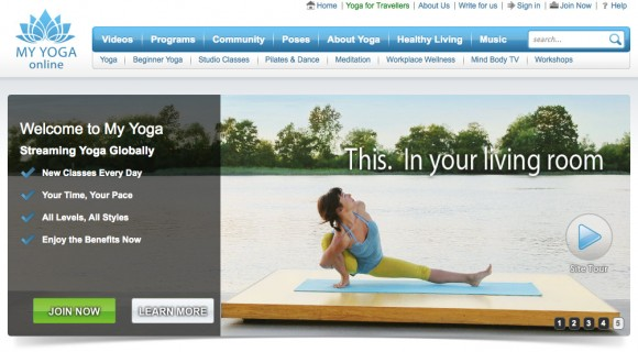 My Yoga Online Screen Shot 4