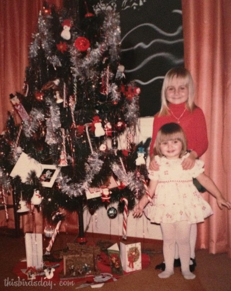 1978: Me at 5 years old with my younger sister.