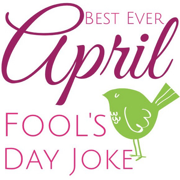Font title best ever April Fools day joke post