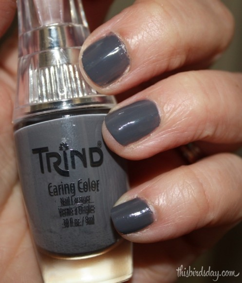 Grey Nail polish by Trind
