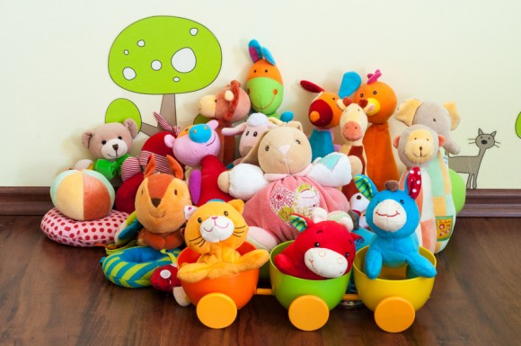 Pile of soft stuffed toys - photo copyrights to © Pixavril - Fotolia.com