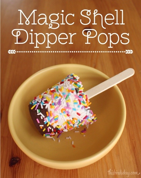 Smuckers Magic Shell Dipper Pops Recipe