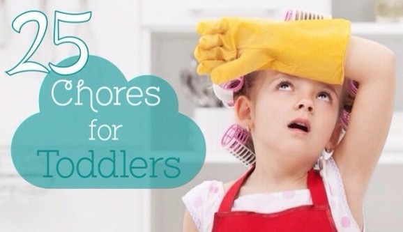 Great List of 25 Chores for Toddlers
