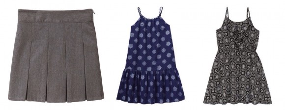 Skirt and dresses for Visa Back to School Program