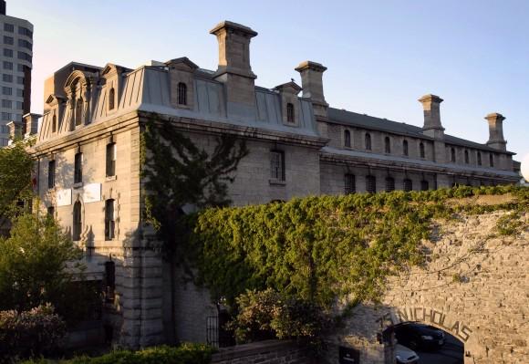 Outside the Ottawa Jail Hostel. Photo credit: Hostelling International