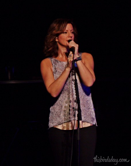 Sarah McLachlan sings at the Winspear Centre in Edmonton.