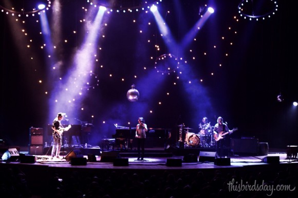 Full stage at Sarah McLachlan Shine On tour