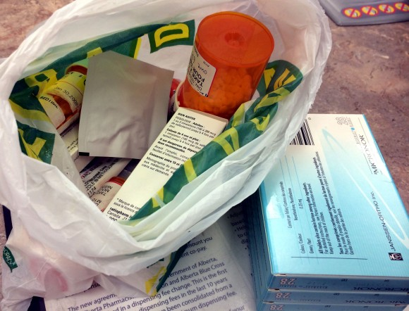 London Drugs recycles old prescriptions